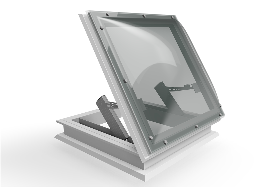 Smoke dispersal rooflight automatic opening vent (AOV) Gallery Image