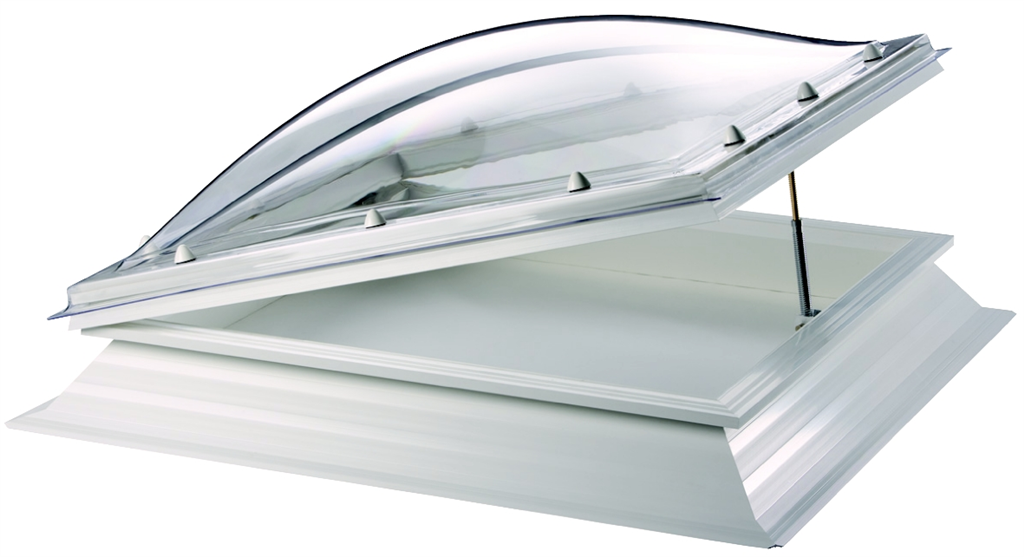 Manual Hinged polycarbonate rooflight / skylight Thermadome Gallery Image