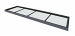 Multi-part, multi section flat glass rooflight with aluminium framework Thermalight skylight  Gallery Thumbnail