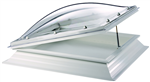 Manual Hinged polycarbonate rooflight / skylight Thermadome Gallery Thumbnail