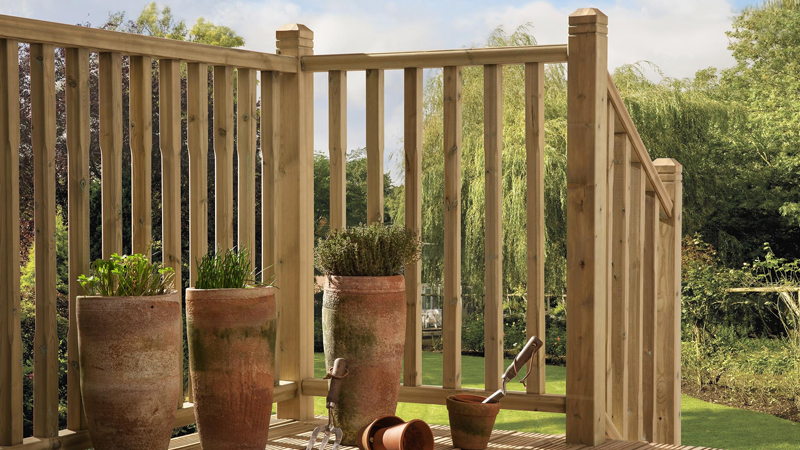 Stop Chamfer Wood Decking System Gallery Image