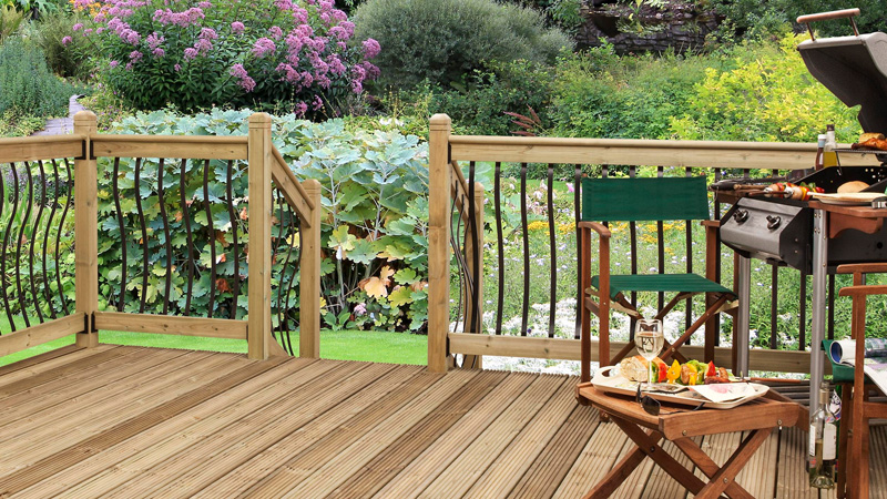 Bow and Eden Metal Decking Gallery Image