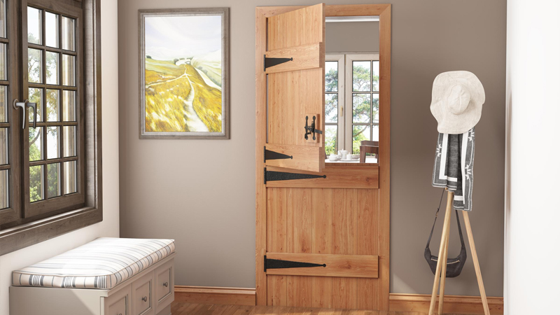 Blueprint Joinery's Solid Oak Stable Cottage Door Gallery Image