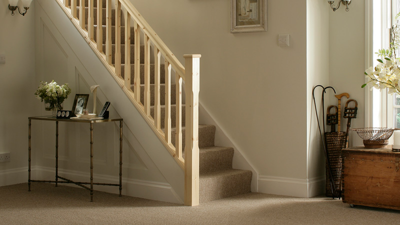 Stop Chamfered Timber Stair Parts Gallery Image