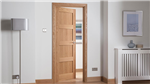 Cheshire Shaker Oak Interior Door Gallery Thumbnail