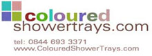 colouredshowertrays.com