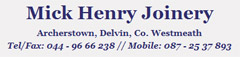 Mick Henry Joinery