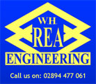 W.H. REA ENGINEERING Logo