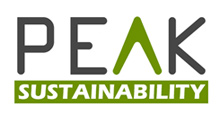 Peak Sustainability Logo