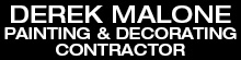 Derek Malone Painting & Decorating Contractor Logo