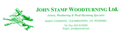 John Stamp Woodturning Ltd