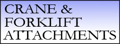 Crane & Forklift Attachments
