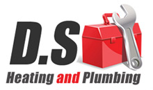 DS Heating and Plumbing Logo