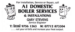 A1 Domestic Boiler Services & Installations Logo