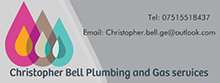 Christopher Bell Plumbing & Gas Services Logo