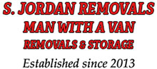 S.Jordan Man with a Van Removal & Storage Services Logo