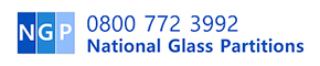 National Glass Partitions Logo