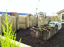 Coolrain sawmills co laois garden decking laois timber for Garden decking kildare