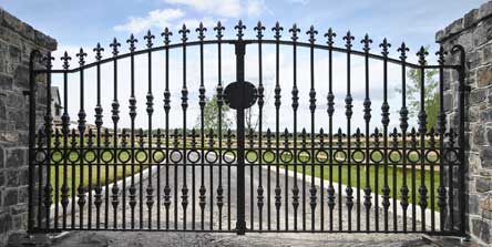 Rs Ornate Steel Co Laois Gates Laois Gates Kildare