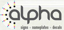 Alpha Sign Nameplate & Decal Co. Ltd