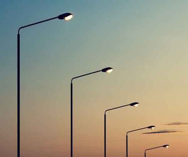The Work Included The Installation Of New Street Lights