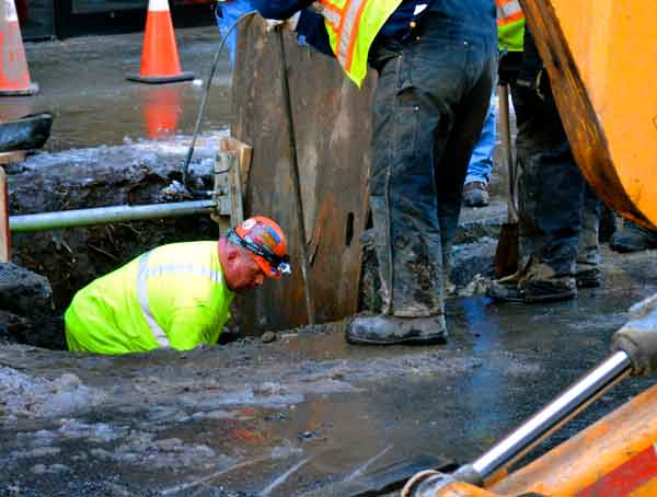 To Replace An Aging Water Main