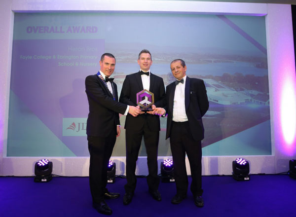 The Prize Was Awarded For The Foyle College Project