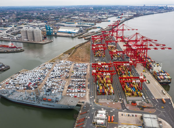 To Develop Liverpool2 Deep-Water Container Terminal