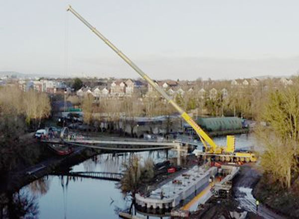 Part Of The £5.2m Lagan Gateway Project